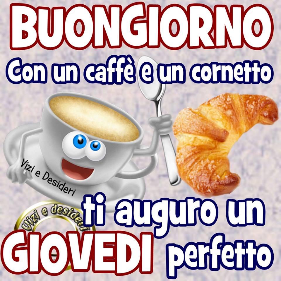 Buongiorno con un caffè e un...
