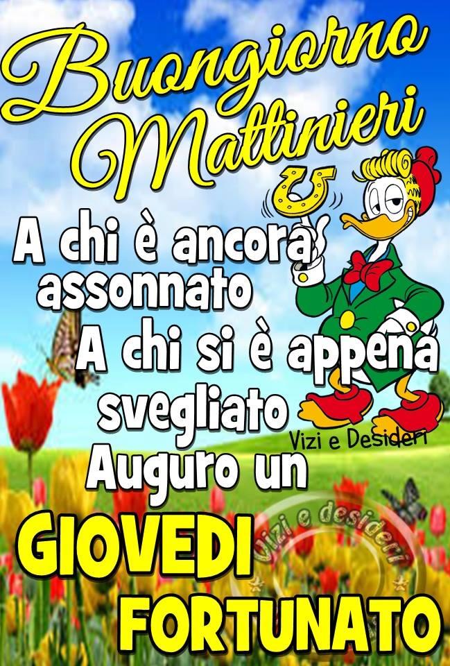Buongiorno Mattinieri A chi è ancora...