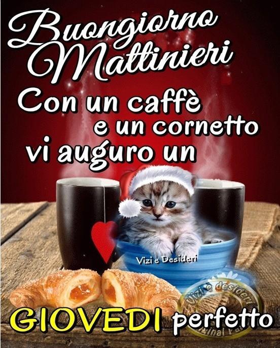 Buongiorno Mattinieri Con un caffè e un...