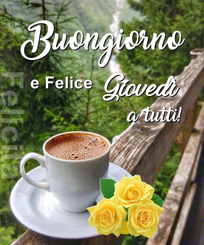 Buongiorno e Felice Giovedì a tutti!