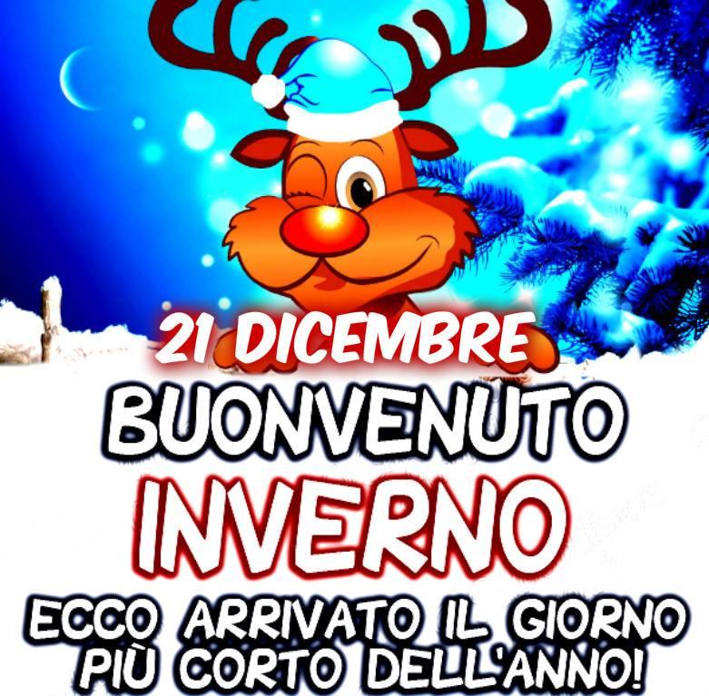 21 Dicembre, Buonvenuto Inverno