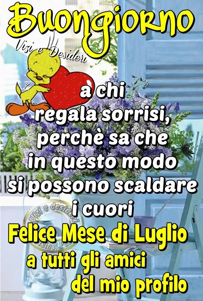 Felice Mese di Luglio a tutti gli amici...
