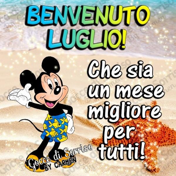 Benvenuto Luglio!