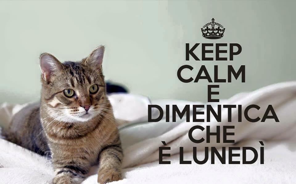 Keep Calm e Dimentica che è Lunedì
