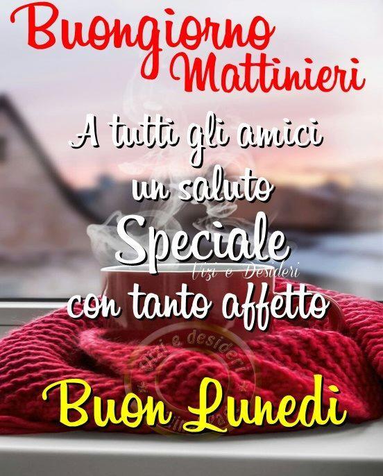 Buongiorno Mattinieri A tutti...