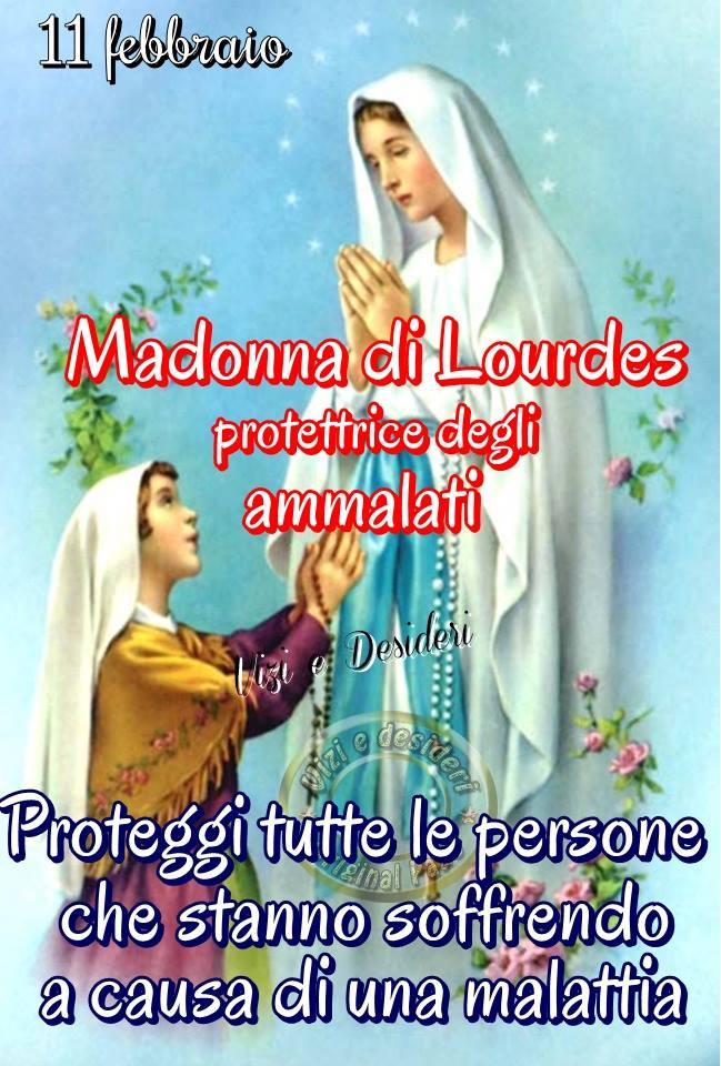 11 febbraio - Madonna di Lourde