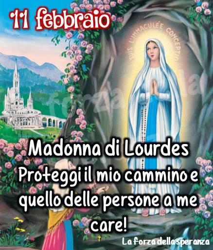 Madonna di Lourdes - Proteggi il mio cammino...