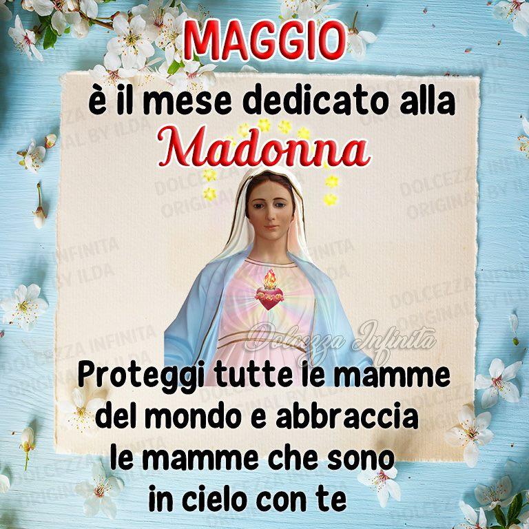Maggio è il mese dedicato alla Madonna