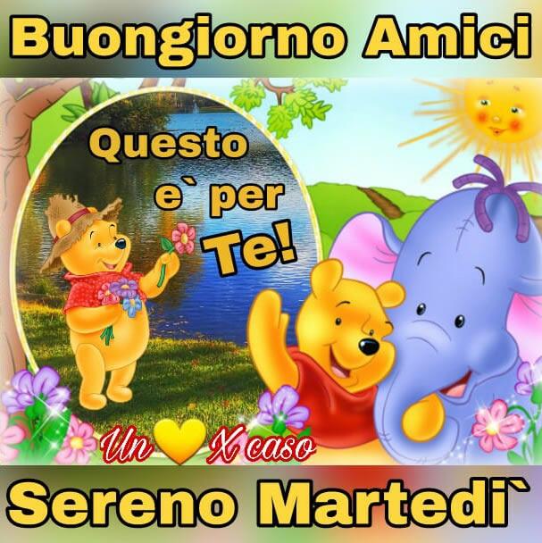 Marted immagini e fotos gratis per facebook topimmagini for Foto buongiorno amici