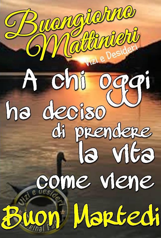Buongiorno Mattinieri A chi...