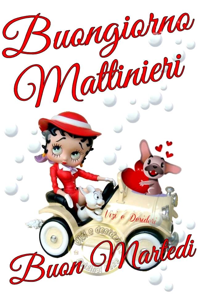 Buongiorno Mattinieri. Buon Martedì.