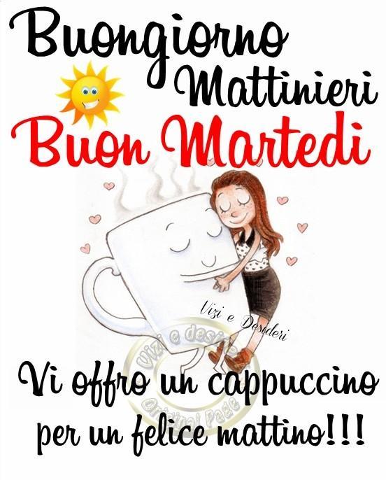 Buongiorno Mattinieri. Buon...