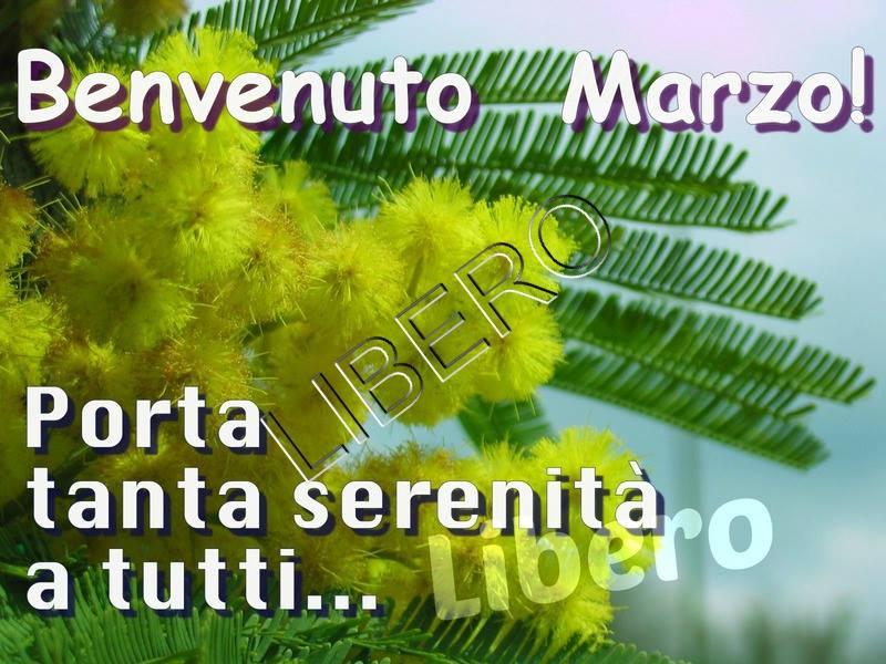 Benvenuto Marzo! Porta tanta serenità a tutti