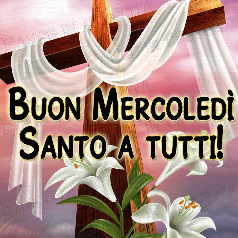 Buon Mercoledì Santo a Tutti!