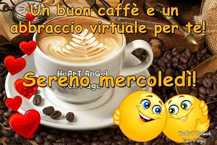 Un Buon Caffè E Un Abbraccio Virtuale Per Te Sereno