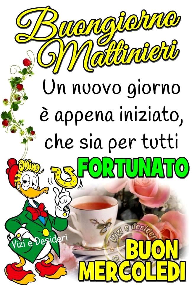 Buongiorno Mattinieri. Un...