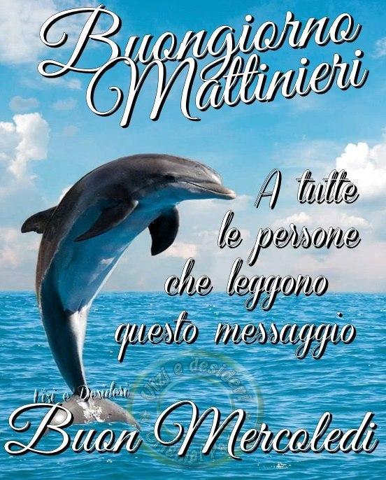 Buongiorno Mattinieri A tutte...