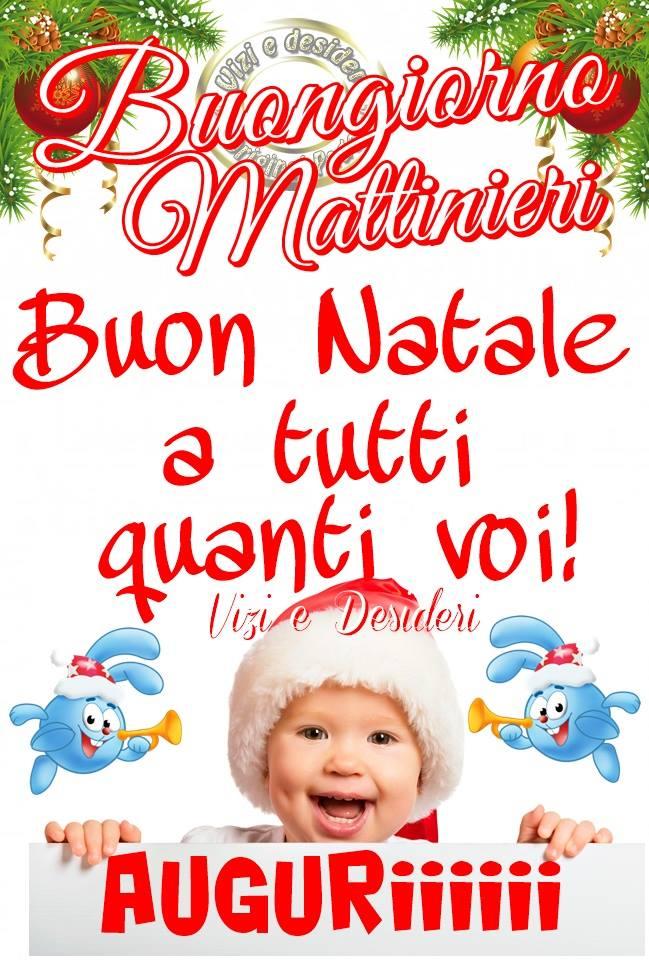 Buon Natale a tutti quanti voi !