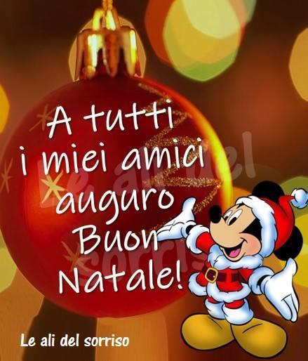 A tutti i miei amici auguro Buon Natale!