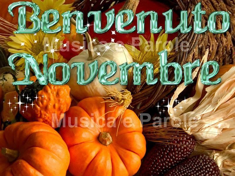 Benvenuto Novembre
