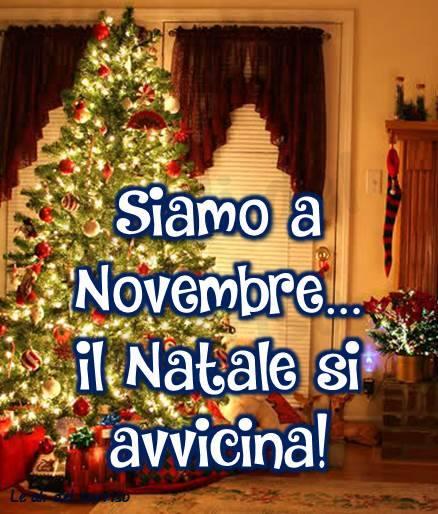 Siamo a Novembre... il Natale si...