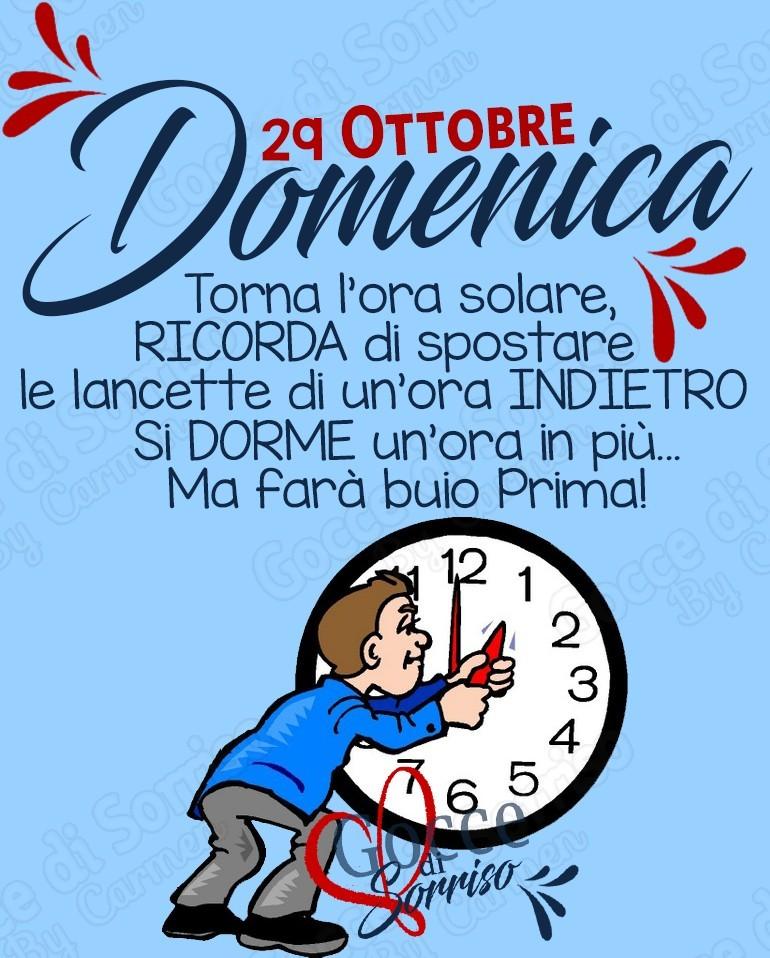 29 Ottobre Domenica