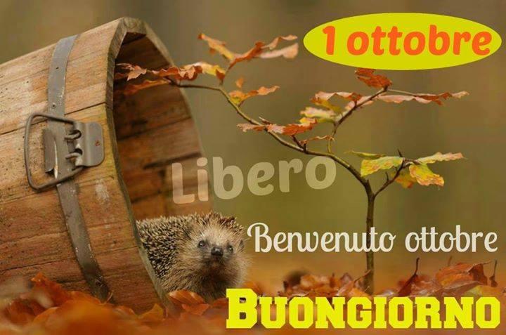 1 ottobre, Benvenuto ottobre, Buongiorno