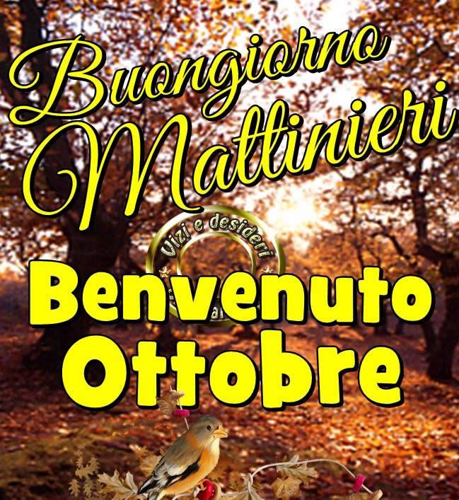 Buongiorno Mattinieri...