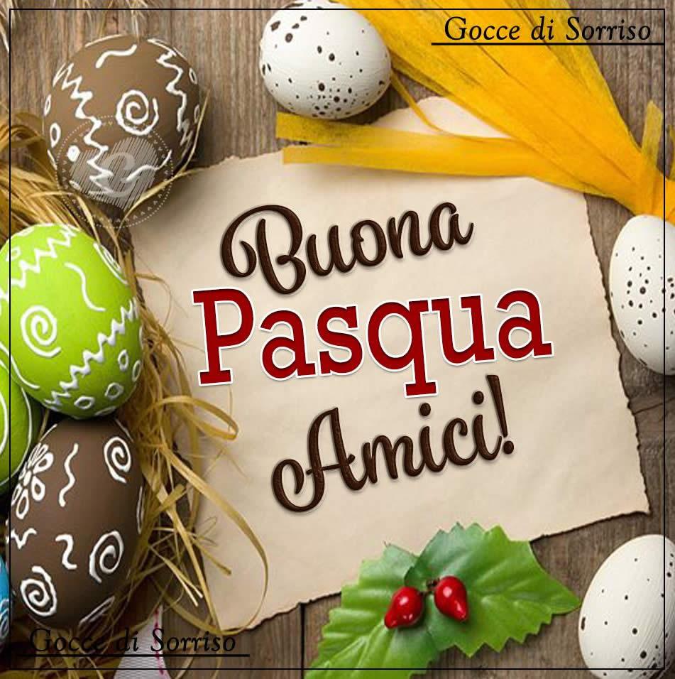 Buona Pasqua Amici!