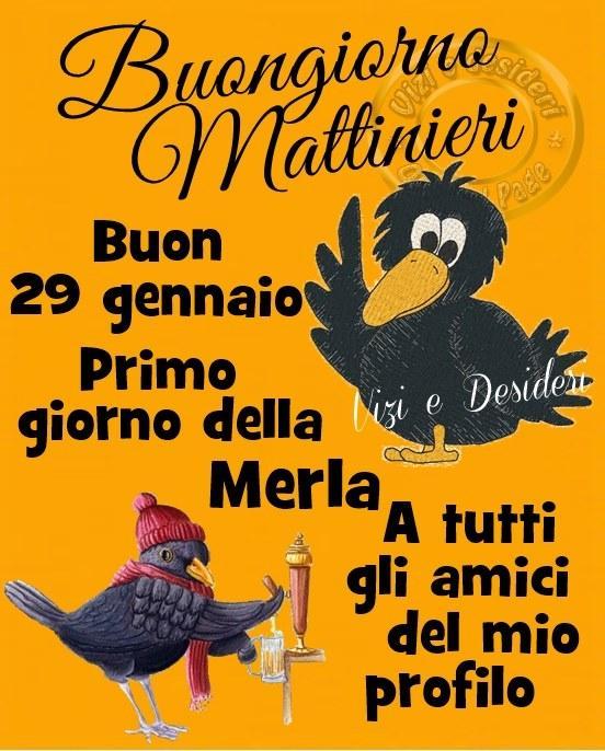 Buongiorno Mattinieri Buon 29...
