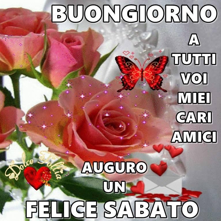 Buongiorno forum saluti lampo pagina 27 for Frasi buon sabato