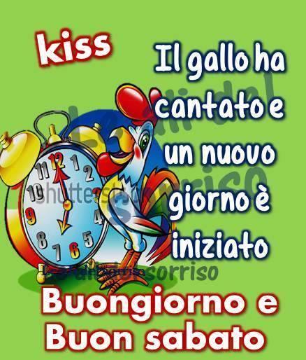Buongiorno e buon sabato immagine 2554 topimmagini for Buon sabato sera immagini divertenti