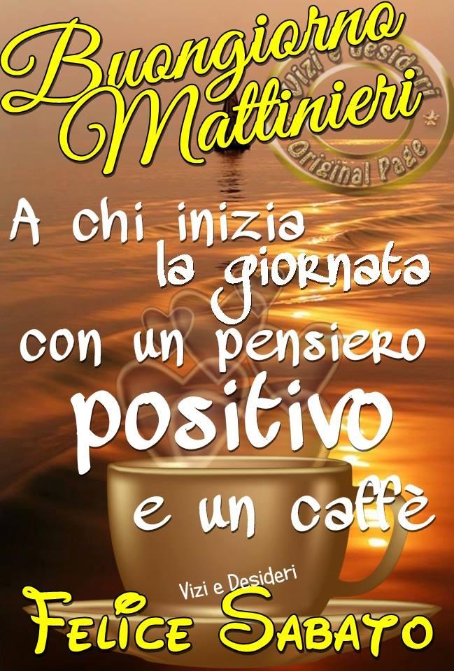 Buongiorno Mattinieri, Felice Sabato