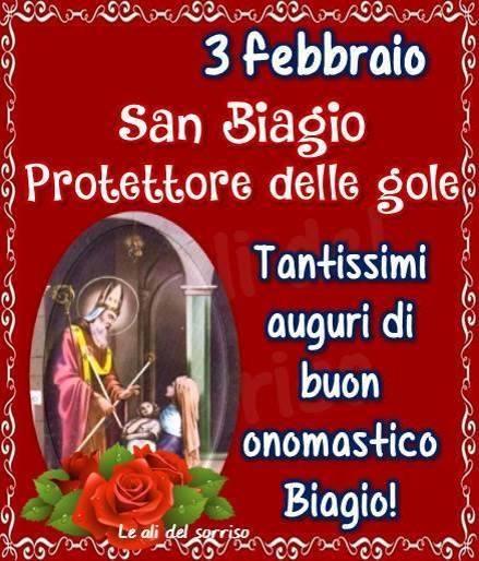 3 febbraio, San Biagio