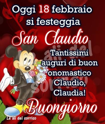 Oggi 18 febbraio si festeggia San Claudio