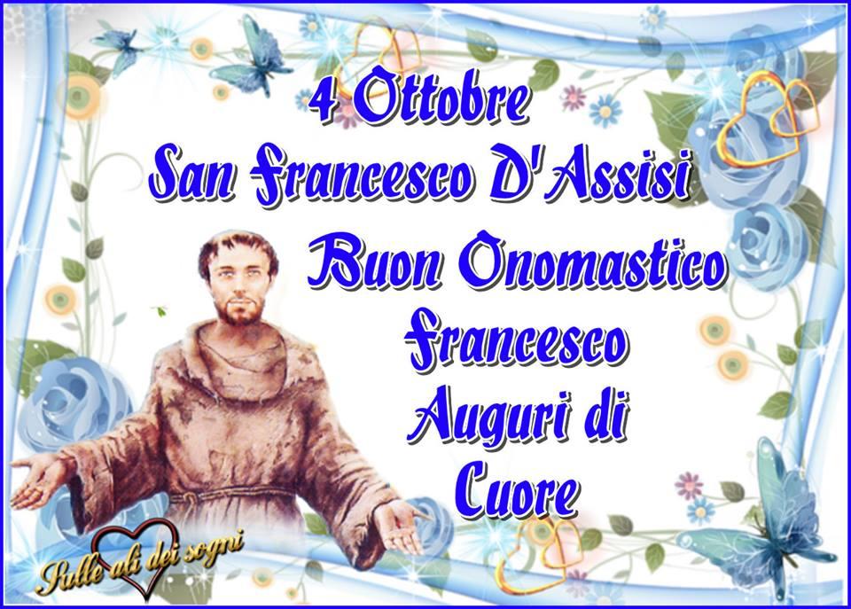 Buon Onomastico Francesco