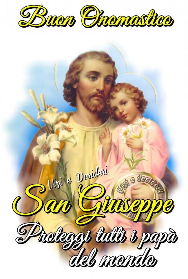 Buon Onomastico San Giuseppe