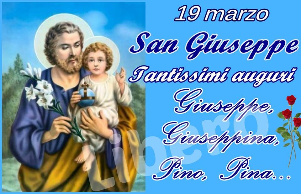 Tantissimi auguri Giuseppe, Giuseppina...