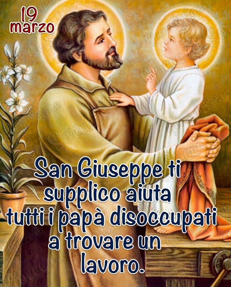 19 marzo. San Giuseppe ti...