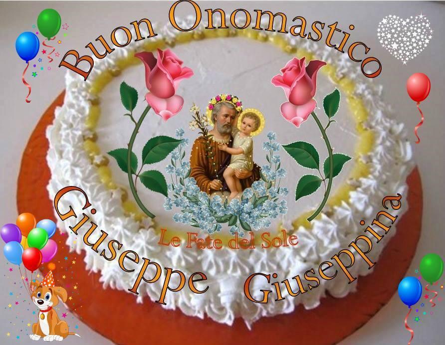 Buon Onomastico - Giuseppe - Giuseppina