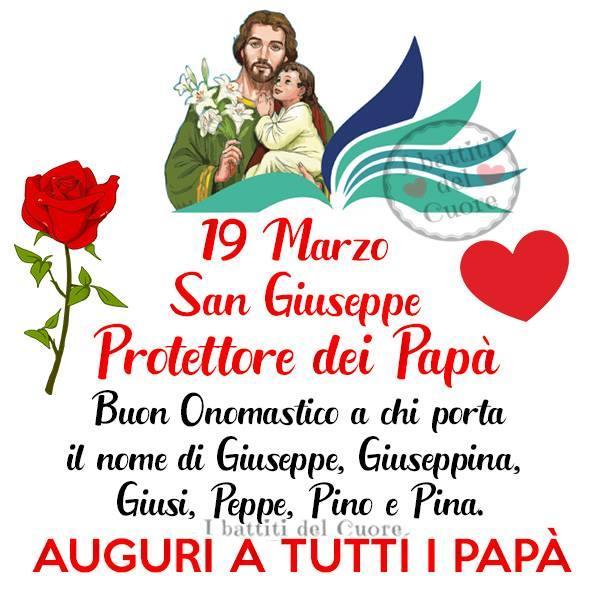 19 marzo San Giuseppe...