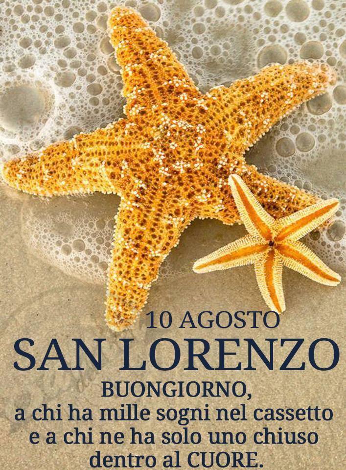 10 Agosto - San Lorenzo