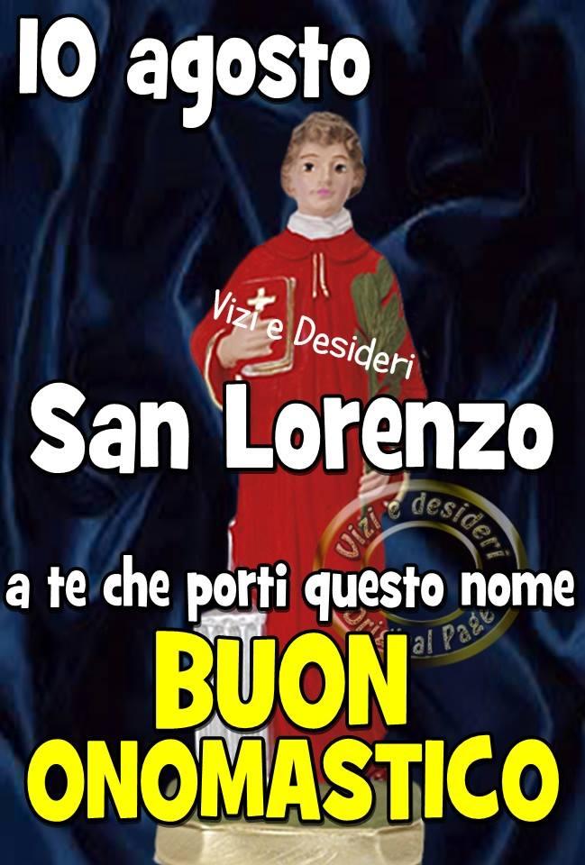 10 agosto San Lorenzo