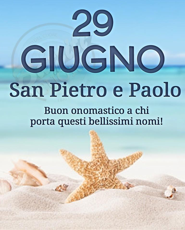 29 Giugno, San Pietro e Paolo