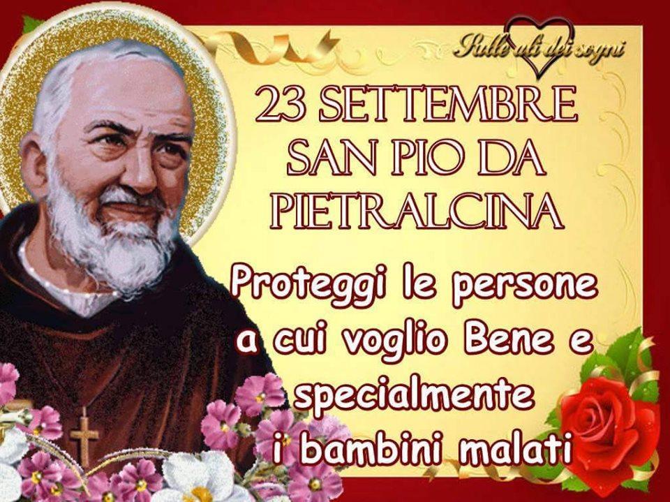 23 Settembre San Pio da Pietrelcina...