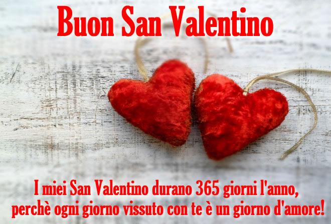 I miei San Valentino dura 365 giorni...