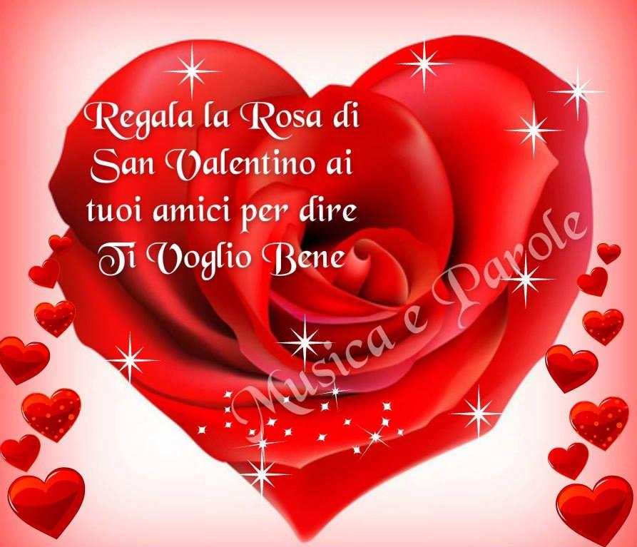 Regala la Rosa di San Valentino...