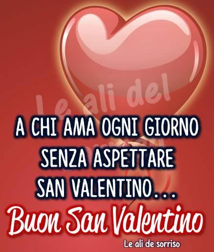 A chi ama ogni giorno senza aspettare San Valentino...