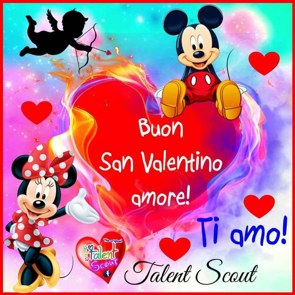 Buon San Valentino amore! Ti amo!