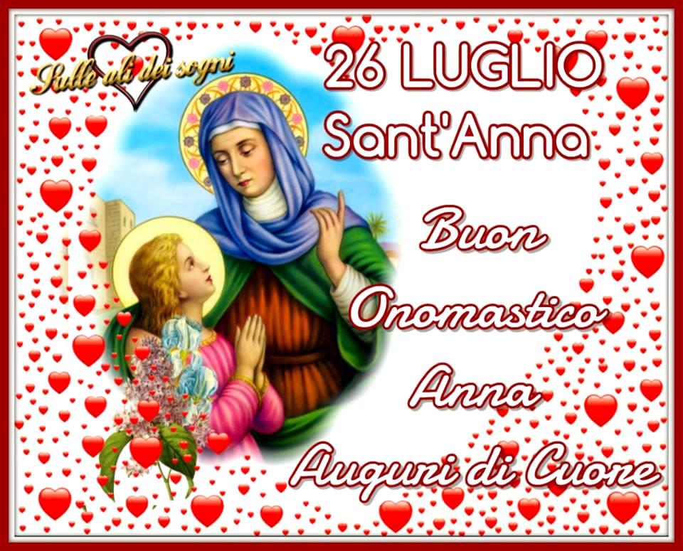 26 Luglio, Sant'Anna